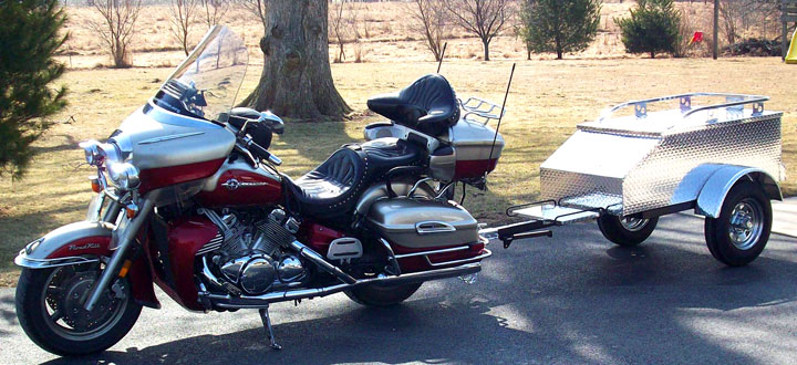 What Else Can You Do With A Motorcycle Trailer?