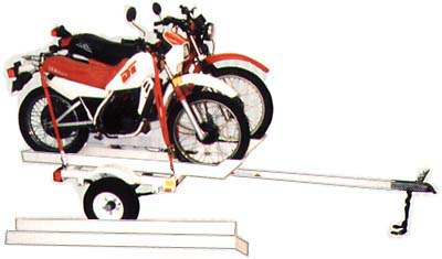 Motorcycle Trailers to Pull or Trailers to Pull your Motorcycle