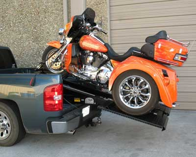 Rampage Lift Trike Adapter Install 1
