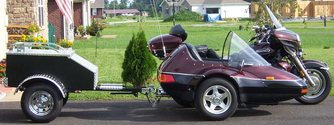 California Sidecar Trailers for Motorcycles http://motorcycletrailer.com/ss/