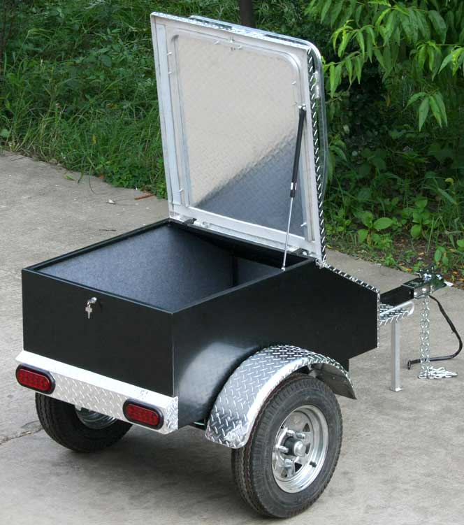 Image Gallery Motorcycle Cargo Trailers