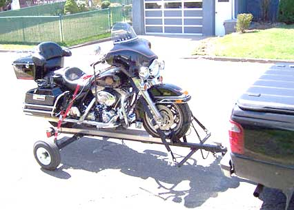 Easy Storage One Or Two Motorcycle Atv Scooter Trike Trailer In How To Safely Tie Down